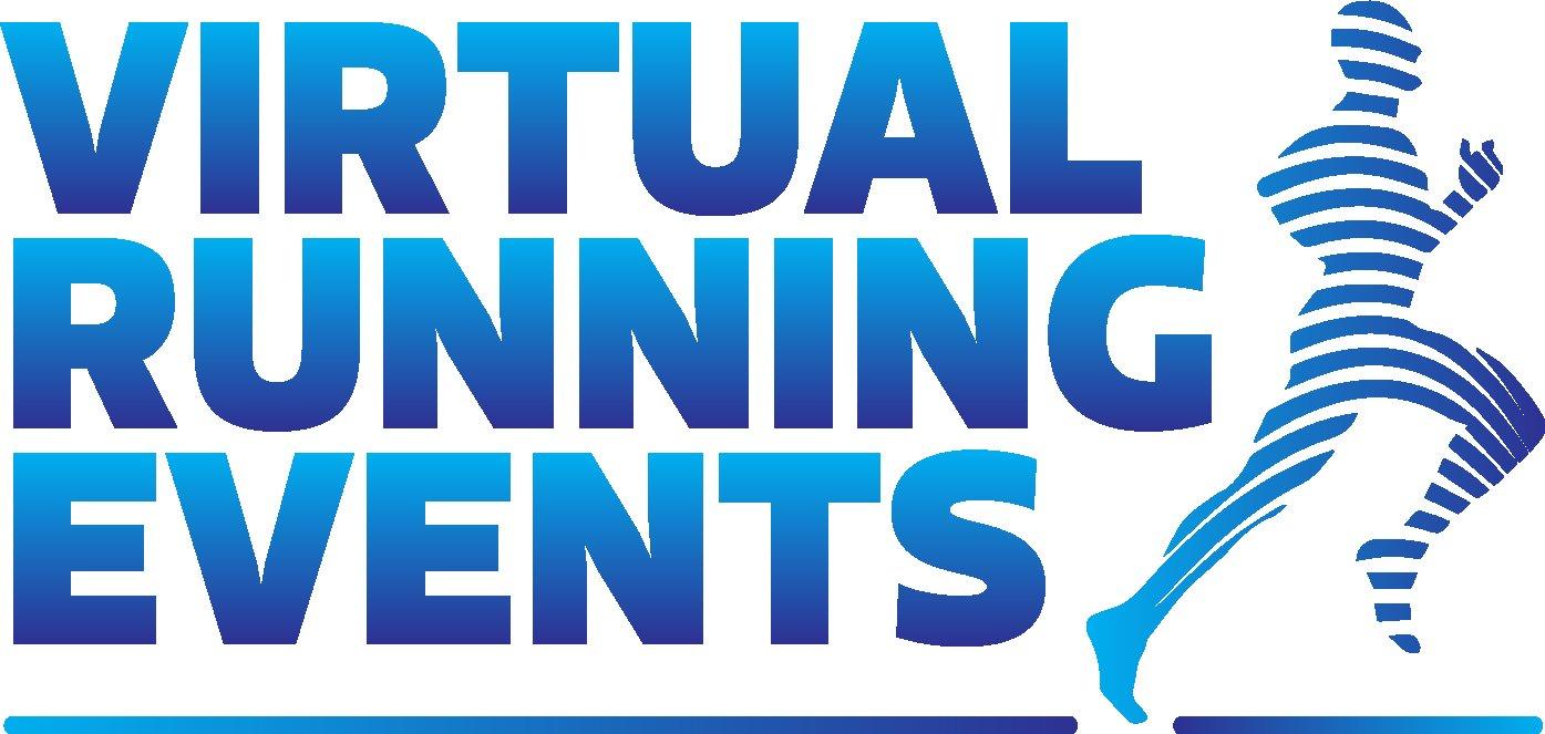 virtual running events logo